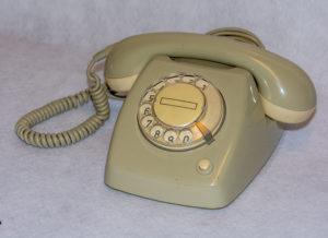 Telefoon T65 met kiesschijf