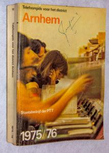 Telefoongids district Arnhem 1976