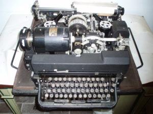 Telex bladschrijver binnenwerk