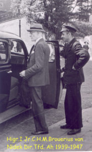 1947 Ir Brouërius van Nidek - Dir Tfd-Ah 1939-47T