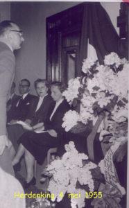 1955 Herdenking 4 mei 005T