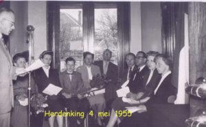 1955 Herdenking 4 mei 007T