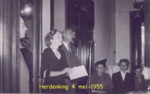 1955 Herdenking 4 mei 008T