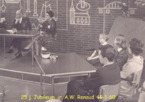 1960 25 j jubileum Ir AW Renaud 001T