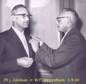 1960 25j Jubileum Ir von Liendheim 1-9-60 001T