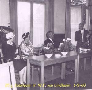 1960 25j Jubileum Ir von Liendheim 1-9-60 002T