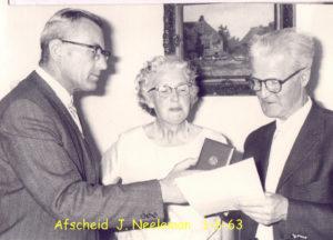 1963 40j +afscheid Hr Neeleman 1-6-63T