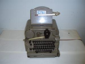 Siemens telegraaftoestel met bandschrijver